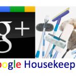 Google Plus Housekeeping
