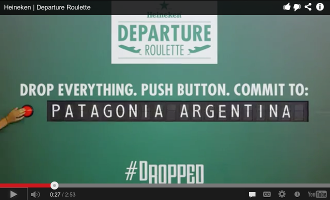 """Heineken Hits A Home Run With """"Departure Roulette"""""""