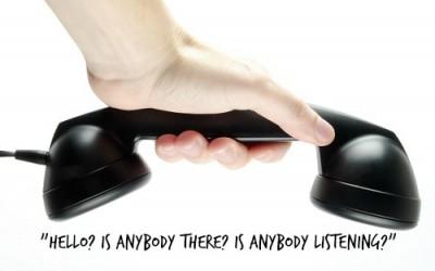 Is Anybody Listening? Let's Jumpstart Small Business Customer Service