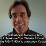 Small Business Marketing:   Website + Email = Success