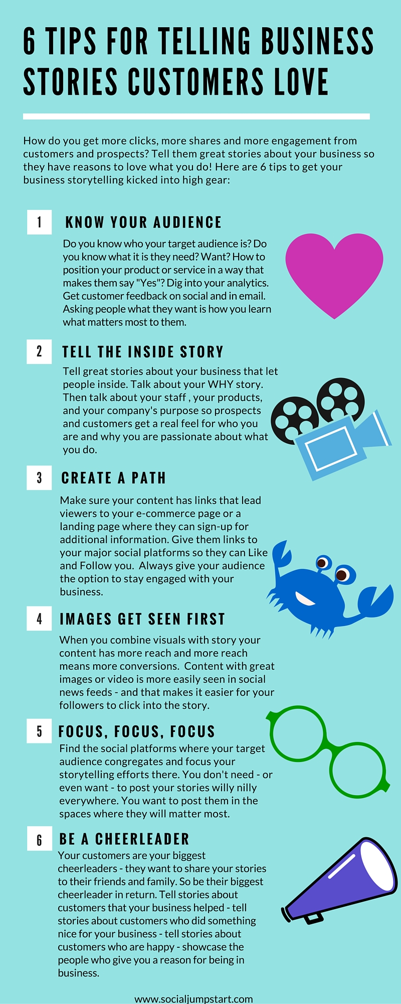 6 Tips for Storytelling (1)
