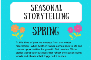 Seasonal Storytelling: Spring [Infographic]