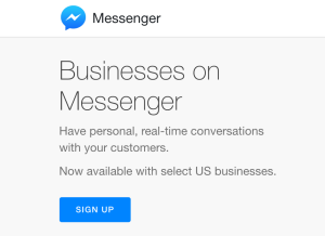Facebook Messenger for Business: Texting Grows Up
