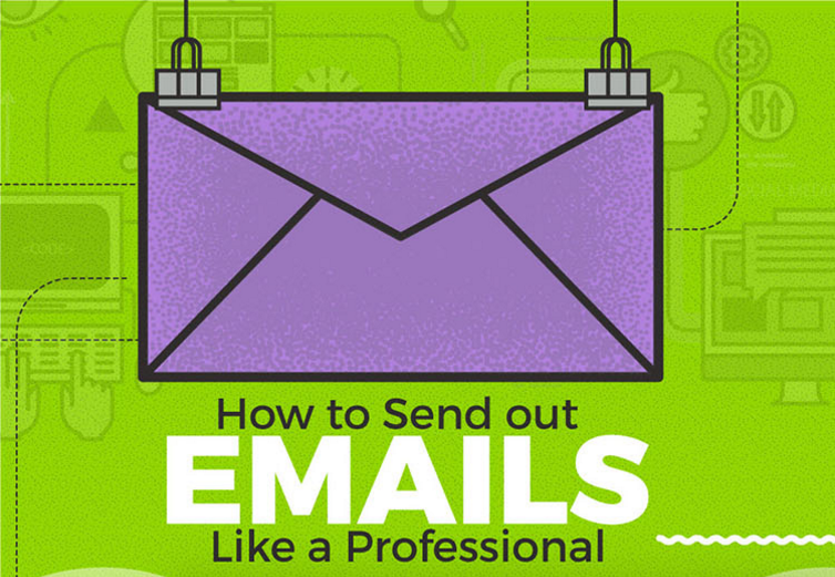 How to Send Emails Like a Pro [Infographic]