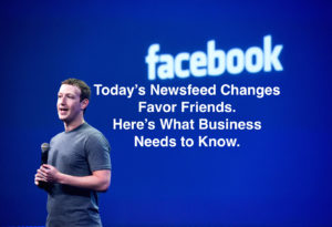 Facebook Newsfeed Changes Favor Friends Over Business