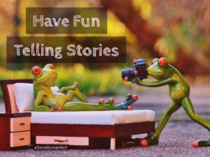 Marketing Stories are Fun