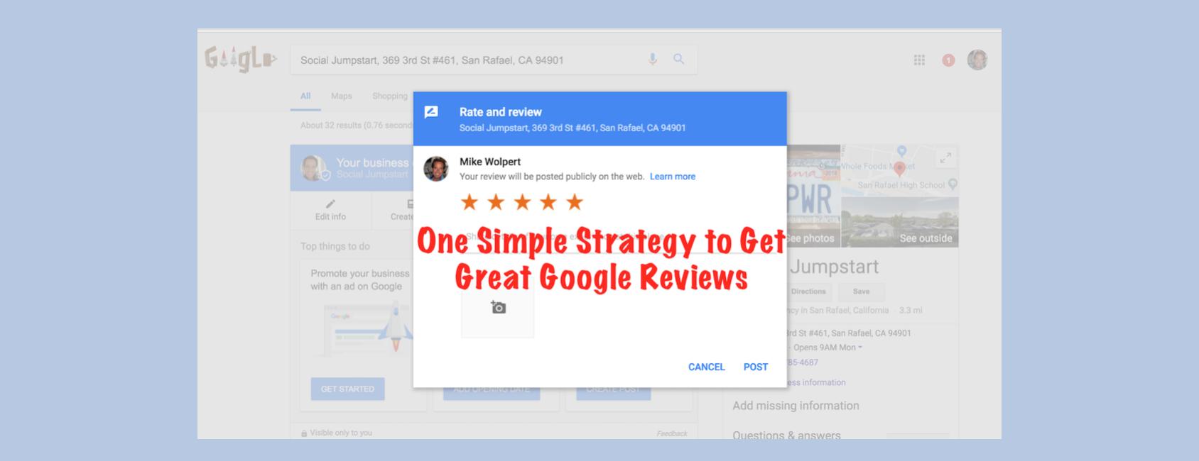 how to get google reviews