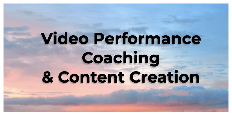 video performance coaching